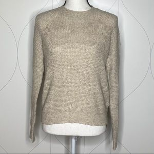 NWT Abound Thermal Pullover Sweater beige  XXS